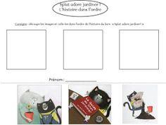 Le Livre de Sapienta: Splat adore jardiner ! Exploitation MS GS Splat Le Chat, Grande Section, Ms Gs, Album, Cycle 1, Voici, School, Mathematical Analysis, Card Book