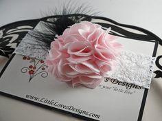 etsy baby girl flower headband