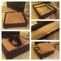 Nana Next Door: DIY Platform Dog Bed