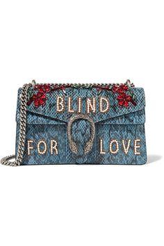 087c1f010738 Gucci   Dionysus medium embellished elaphe shoulder bag   NET-A-PORTER.COM
