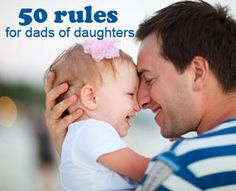 50 rules for dad of daughters