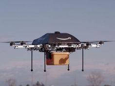 Google zieht nach Wettlauf der Boten-Drohnen hat begonnen - Noch kann man es sich kaum vorstellen: Surrende Scharen kleiner Drohnen, die in der Luft als Roboter-Boten unterwegs sind. Doch die Internetkonzerne in den USA meinen es offenbar ernst. Der jüngste Vorstoß kommt aus dem Google-Labor.