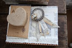 Paper prize ribbon