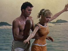 Loved these re-runs of James Darren-- my first crush.....  Gidget, 1959 - Sandra Dee and James Darren