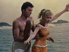 Loved these re-runs of James Darren-- my first crush.....  Gidget, 1959 - Sandra Dee and James Darren