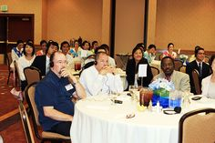 The ballroom at the Double Tree Hotel was filled with more than 100 followers and local church leaders to listen to Man Hee Lee testify on the Fulfillment of Revelation, something that often sparks controversy. (July 23, 2012)