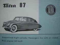 TATRA 87 (1938) | René Vallente | Flickr Vintage Labels, My Favorite Color, Race Cars, Automobile, Chrome, Dreams, Cool Stuff, Vehicles, Cars