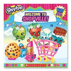Shopkins Welcome To Shopville (Avail. April 22nd)
