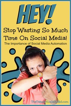 The Importance of Social Media Automation - Has social media taken over your life? Do you find it difficult to finish your other blogging tasks because you're spending so much time on your social media sharing? There is an easier way! #socialmedia #blogging