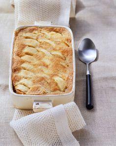 Soufflé de manzana y canela - Rezepte - Apple Recipes, Sweet Recipes, Baking Recipes, Cake Recipes, Dessert Recipes, Healthy Recipes, Dessert Oreo, Sweet Bakery, Sweets Cake