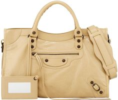 Balenciaga Classic City Bag, Beige - $1,835.00