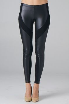 Paneled Leggings - Lavishville  it could be looking skinny