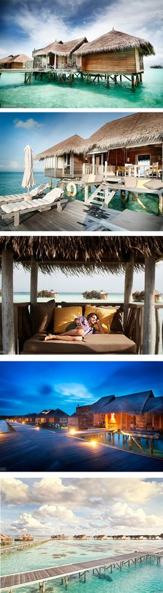 The Best Over Water Villa You've Ever Seen » I want to go!!