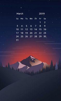 march 2019 hd calendar