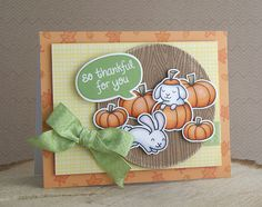 Lawn Fawn - Woodgrain Backdrops, So Thankful, Critters in Costume, Happy Easter, Pink Lemonade paper _ card by Yainea