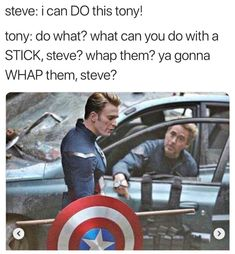 Why is tony old here and Steve is the same age he was in the battle of New York. Why do they go back in time in avengers 4?
