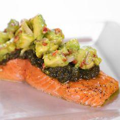 the chew | Recipe | Michael Symon's Slow-Roasted Salmon