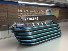 Samsung by Ibrahim Bozkurt, via Behance