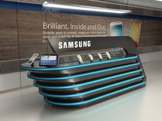 Samsung by Ibrahim Bozkurt, via Behance