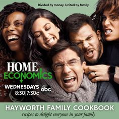 Welcome to the Hayworth Family Cookbook, where the recipes are delicious, distinctive and destined to evoke the sweet (and sometimes tart) flavors of family. You're invited to join us as we serve up a few of our favorites — from the comfy (Tom's Mac & Cheese) to the swanky (Connor's Surf & Turf) to the delightf… Cookbook Recipes, New Recipes, Make Your Own Cookbook, Surf And Turf, Home Economics, New Cookbooks, Tom S, Mac And Cheese, Tart