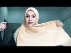 Hijab segi empat simple dengan 4 model 2018 untuk sehari - YouTube