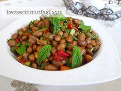 Barbunya Salatası Tarifi - Kevser'in Mutfağı - Yemek Tarifleri