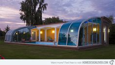 Aquacomet Canada Pool Enclosure for Year-Round Pool Usage www.aquacomet.ca