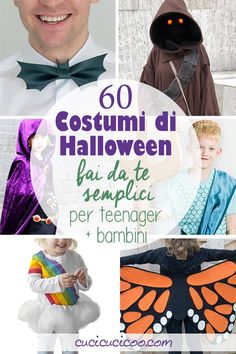 Embrace a handmade lifestyle and have fun with these 60 easy DIY Halloween costumes for teens and kids. Some require basic sewing skills, others just glue skills! Your children of any age will love these simple handmade costumes! Diy Knight Costume, Diy Bat Costume, Kids Witch Costume, Handmade Halloween Costumes, Halloween Costumes For Teens, Diy Costumes, Halloween Diy, Haunted Halloween, Costume Ideas