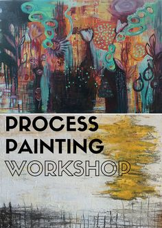 Relax and join inspirational process #painting that will start a self-discovery and meaningfulness journey #Seattle