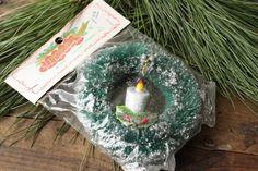Vintage Bottlebrush Wreath   Bottle Brush by PhoebesTreasureChest