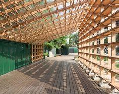 이미지 보기   네이버 카페 Timber Structure, Shade Structure, Wooden Architecture,  Sustainable Architecture 86febfb7da6