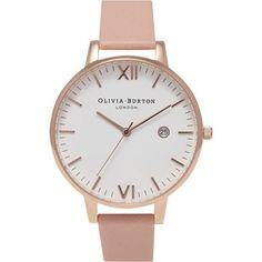 OLIVIA BURTON Timeless Dusty Pink & Rose Gold 1