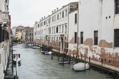 Canal view from We Crociferi, hostel in Venice