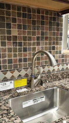 Colorful tiles for Kitchen Back splash the