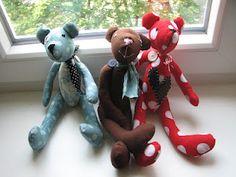sewn Teddy bears
