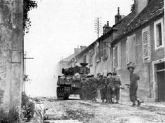 After a series of fierce battles, Canadians finally seized Falaise on 16 August 1944 (courtesy Library and Archives Canada/PA-131233).