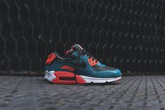 Nike Air Max 90 Anniversary - Dusty Cactus / Infrared