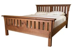 Learn how to build a classic Mission-style bed from start-to-finish in this Fine Woodworking video series: http://bit.ly/1HaYWQU