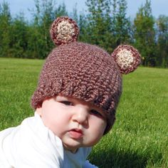 Instant Download - Crochet Pattern - Bunnies n Bears Hat (Newborn to Child). $5.50, via Etsy.