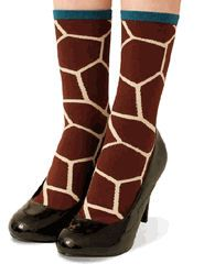 Giraffe Print Socks #giraffe #print #African #animal #clothes #furniture #accessories #love