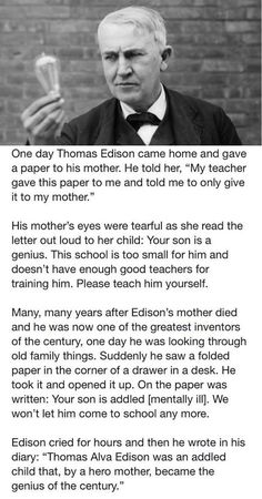 By a hero mother...