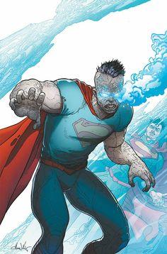#Superman #Fan #Art. (SUPERMAN #23.1: BIZARRO) By: Aaron Kuder. ÅWESOMENESS!!!™  ÅÅÅ+