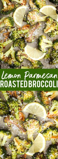 This easy Lemon Parmesan Roasted Broccoli is the best way to eat broccoli ever! You will never want to make it any other way!