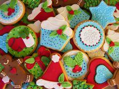 Colourful Christmas sweets. #ColourToLife