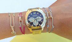 Hook and Eye String Bracelets | 40 DIY Bracelets You Need to Check Out