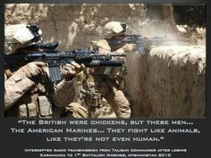 Hot Dogs & Guns: The Taliban's Thoughts On The US Marines