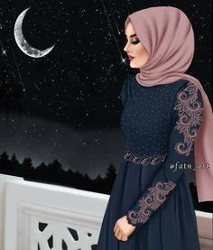 Bild Karto Hijab girly_m hijab ramadan Girly M, Hijabi Girl, Girl Hijab, Lovely Girl Image, Girls Image, Ramadan, Hijab Cartoon, Muslim Women Fashion, Cute Girl Drawing