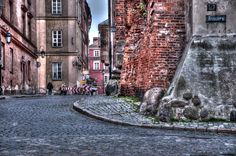 Warsaw, Photograph Old town by Łukasz Zagraba on 500px