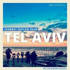 #LiveLoveIsrael #Israel #TelAviv #Shabbat #ShabbatShalom