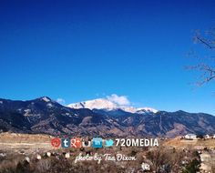 Happy #Friday to you! We're enjoying a productive day in #coloradosprings. http://www.720media.com It's windy, but still #beautiful. Took this pic at 9:45am. #tgif #colorado #mountains #inspired #beauty #blusky #pikespeak #webdesign #socialmedia #720MEDIA 2-21-14 photo by Taa Dixon
